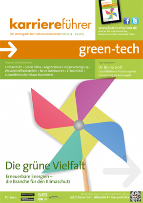 Cover karriereführer green-tech 2014.2015