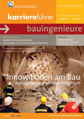 Cover karriereführer bauingenieure 2010.2011