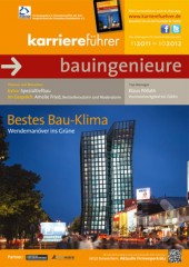 Cover karriereführer bauingenieure 2011.2012