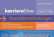 Cover karriereführer finanzdienstleistungen 2010.2011