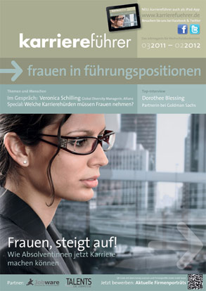 Cover karriereführer frauen in führungspositionen 2011.2012