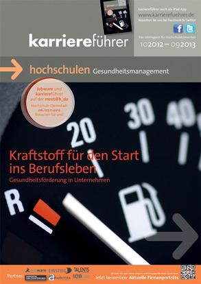 Cover karriereführer hochschulen 2.2012