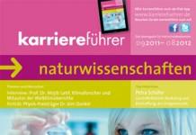 Cover karriereführer naturwissenschaften 2011.2012