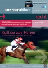 Cover karriereführer recht 1.2011