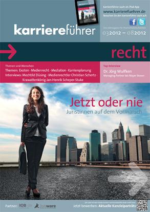 Cover karriereführer recht 1.2012