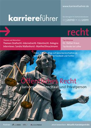 Cover karriereführer recht 2.2010