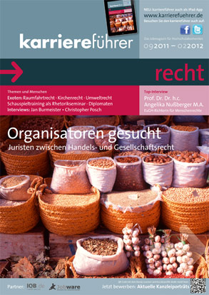 Cover karriereführer recht 2.2011