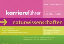 Cover karriereführer naturwissenschaften 2010.2011