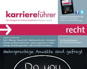 Cover karriereführer recht 2.2014