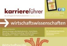 Cover karriereführer wirtschaftswissenschaften 2.2014