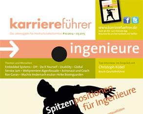 Cover karriereführer ingenieure 2.2014