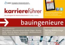 Cover karriereführer bauingenieure 2014.2015