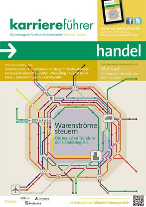 Cover karriereführer handel 2014.2015