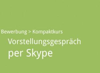 Vorstellungsgespräch per Skype. Bild: karriereführer