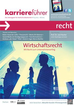 Cover karriereführer recht 1.2015