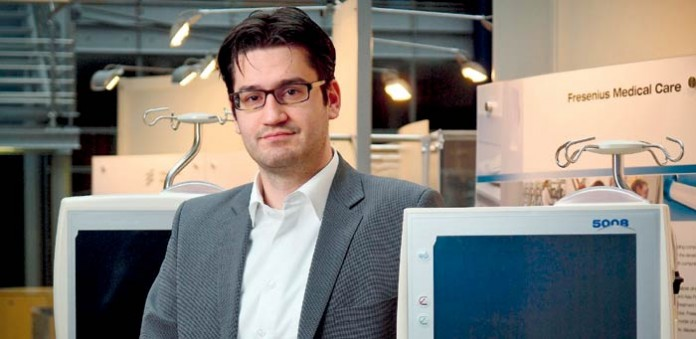 Project Controller Patrick Spalt, Foto: Fresenius Medical Care Deutschland