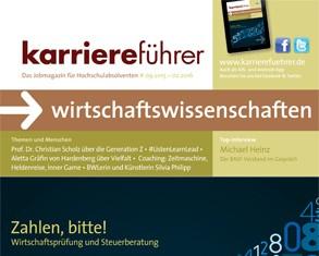 Cover karriereführer wirtschaftswissenschaften 2.2015