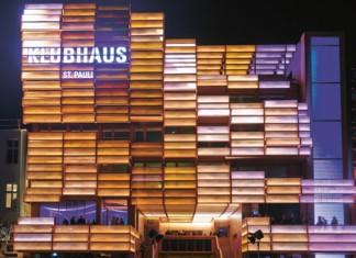 Das Klubhaus St. Pauli bei der Eröffnung. Foto: Oliver Fantitsch