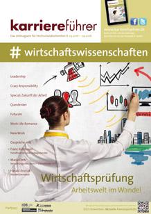 Cover karriereführer wirtschaftswissenschaften 1.2016