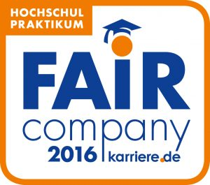 Fair Company Hochschul Praktikum 2016