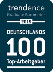 trendence Deutschland 100 2015