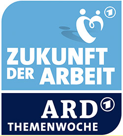 Logo der ARD Themenwoche Zukunft der Arbeit