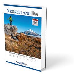 Cover Neuseeland, bergwild Verlag