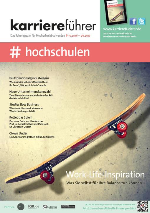 Cover karriereführer hochschulen 2016.2017