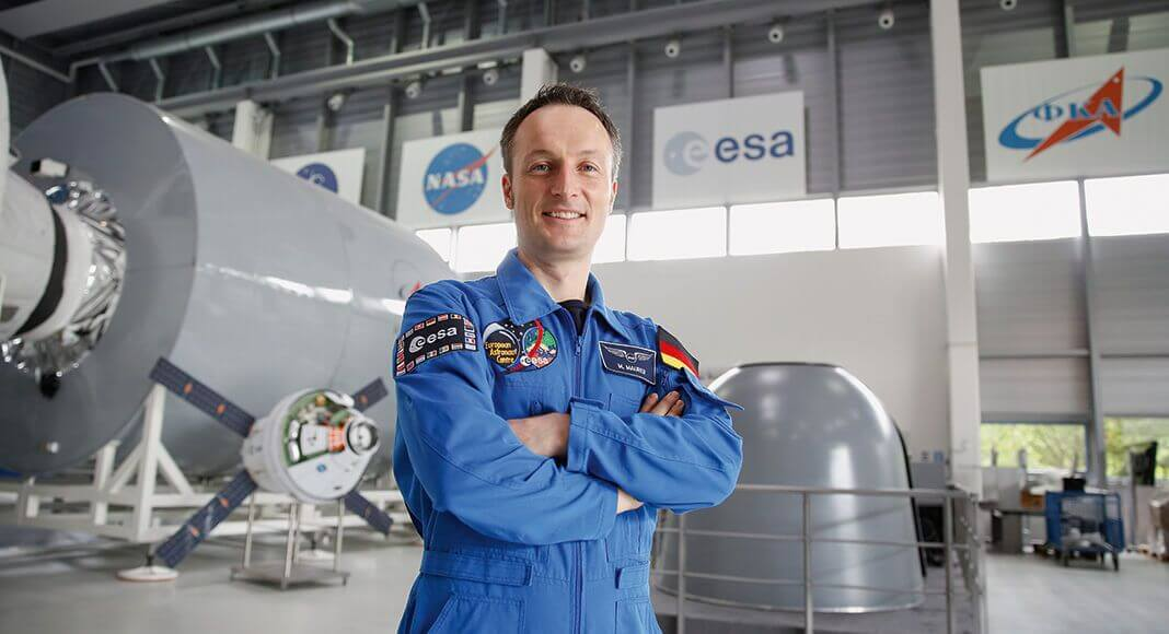 Matthias Maurer, Foto: ESA / Sabine Grothues