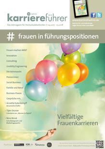 Cover frauen in führungspositionen 2017.2018