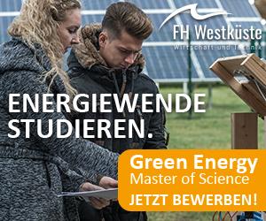 FH Westküste Green Energie Banner