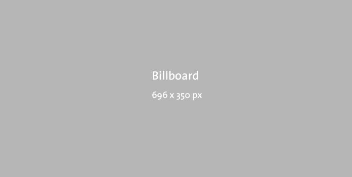 Billboard 696x350px