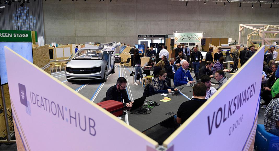 """Volkswagen auf der """"CUBE Tech Fair 2017"""", Foto: Volkswagen AG"""