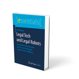 Cover Legal Tech and legal Robots, Amazon-Werbelink
