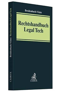 Cover Rechtshandbuch Legal-Tech, Amazon-Werbelink