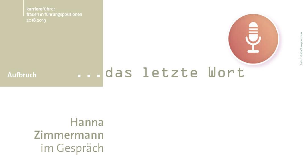 Das letzte Wort von Hanna Zimmermann, Grafik: Fotolia/Rawpixel.com