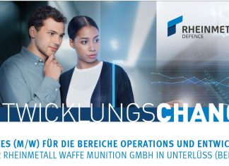 Rheinmetall Anzeige Trainee