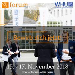 forumWHU - bewirb dich jetzt