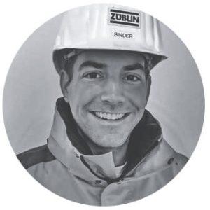 Dr. Florian Binder, Foto: Züblin