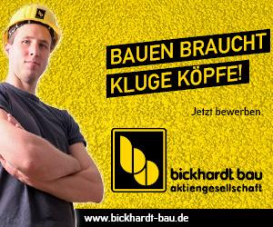 Banner Bickhardt Bau
