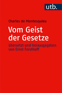 Cover Vom Geist der Gesetze