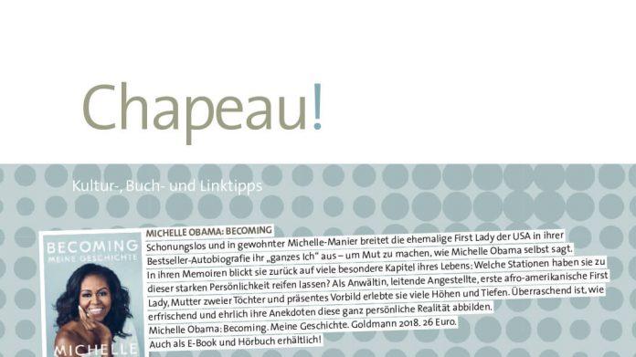 Chapeau Buchtipps