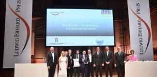 KRIEGER + SCHRAMM erhält den Ludwig Erhard-Preis 2019, Foto: KRIEGER + SCHRAMM