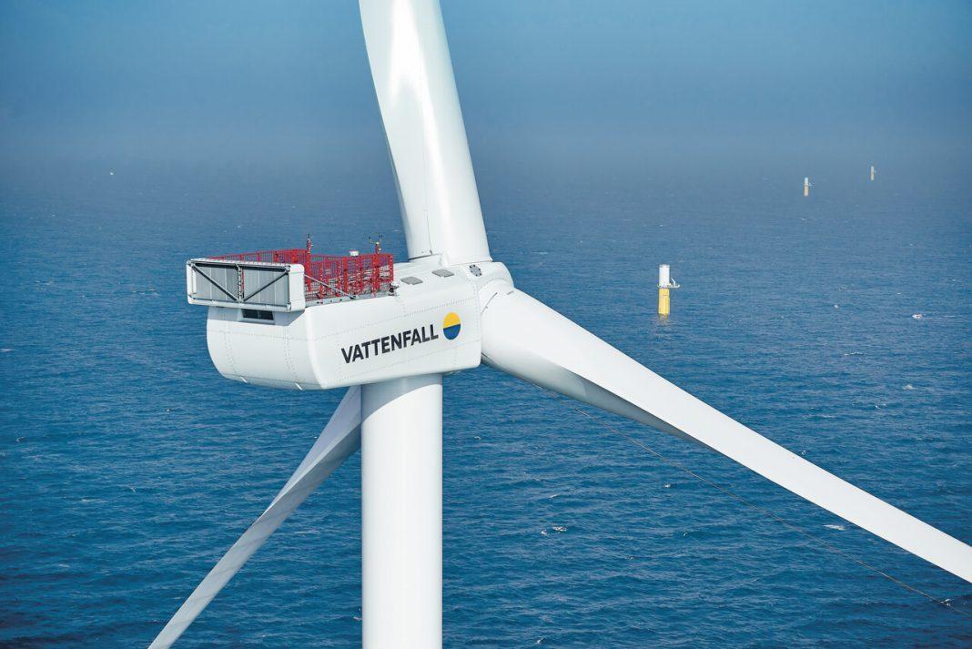 Windfarm, Foto: Vattenfall