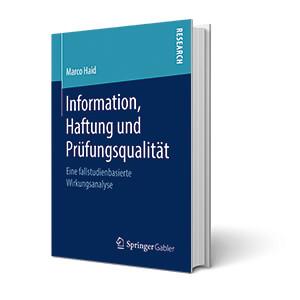 Cover Information Haftung Prüfungsqualität