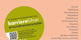Cover karriereführer wirtschaftswissenschaften 2.2019