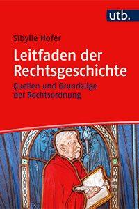 Cover Leitfaden der Rechtsgeschichte