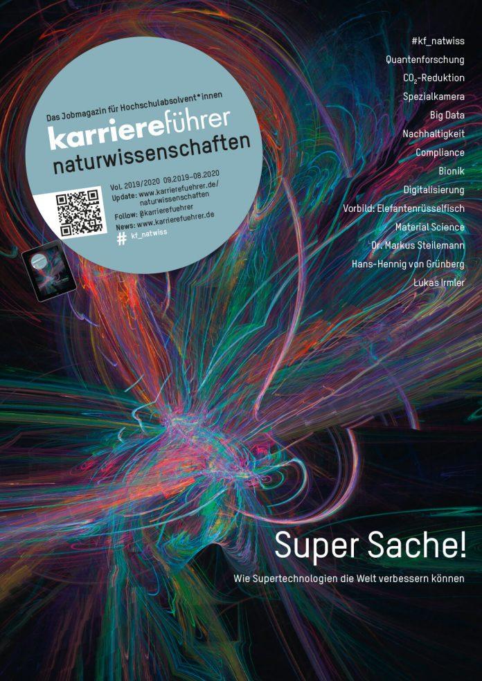 Cover karriereführer naturwissenschaften 2019-2020