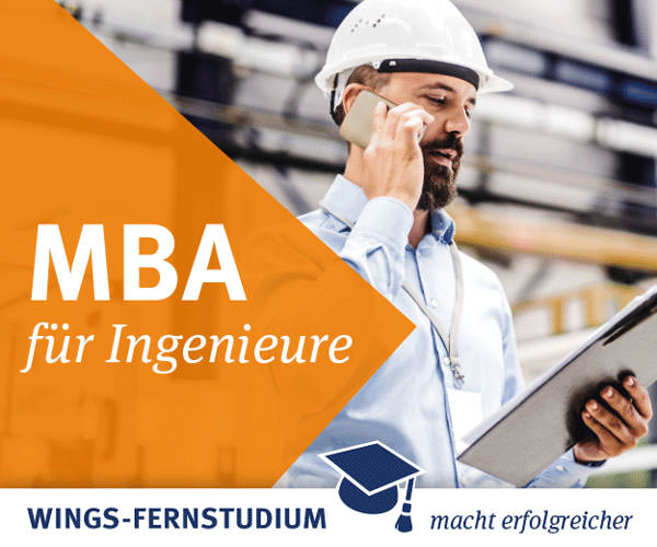 Wings Fernstudium - MBA für Ingenieure