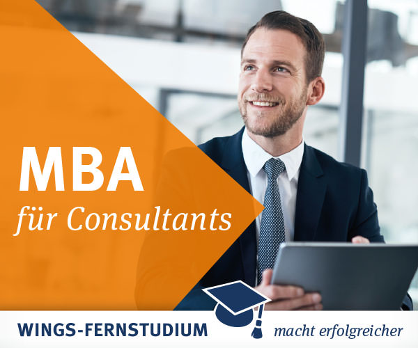 Wings Fernstudium - MBA für Consultants